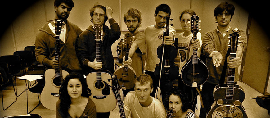 Columbia University Bluegrass Band: Lion in the Grass