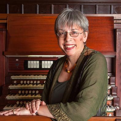 Gail Archer, concert organist, director of the Barnard/Columbia Chorus
